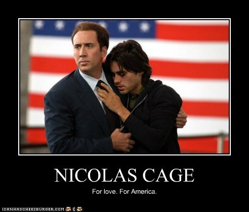 actor celeb demotivational funny jared leto nic cage nicolas cage - 6306650880