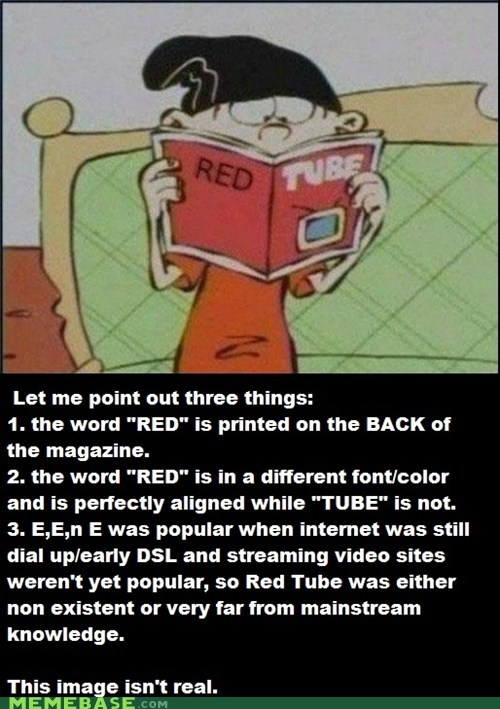 cartoons,ed edd and eddy,facts,fake,Memes,red,tube