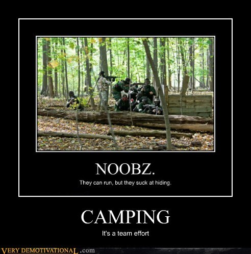 camping,effort,hilarious,team