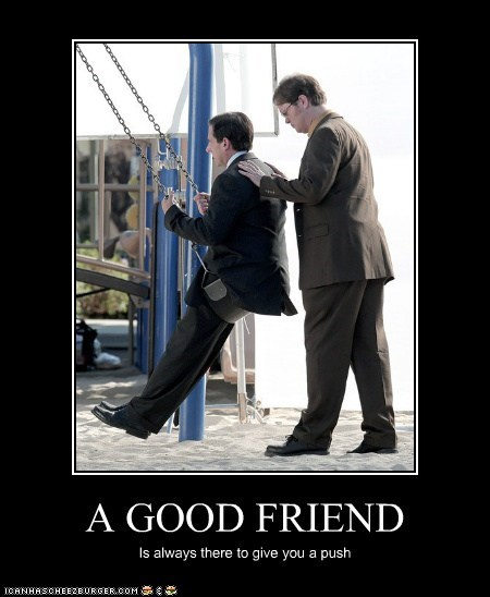 actor celeb demotivational funny rainn wilson steve carell the office TV