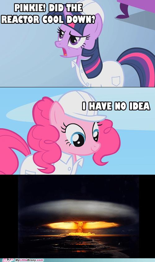 boom comics pinkie pie reactor twilight sparkle - 6307216640