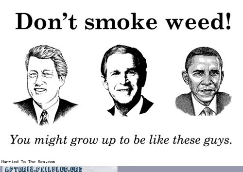 barack obama,bill clinton,george w bush,pot,potus