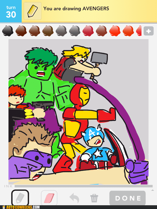 assemble avengers draw something marvel superheroes - 6307261184