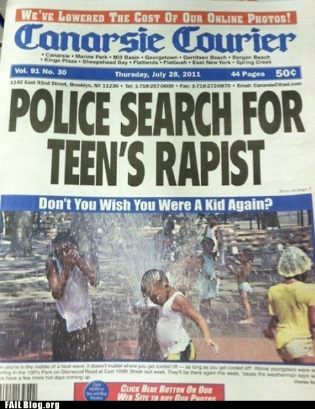 fire hydrant,newspaper,police search,rapist