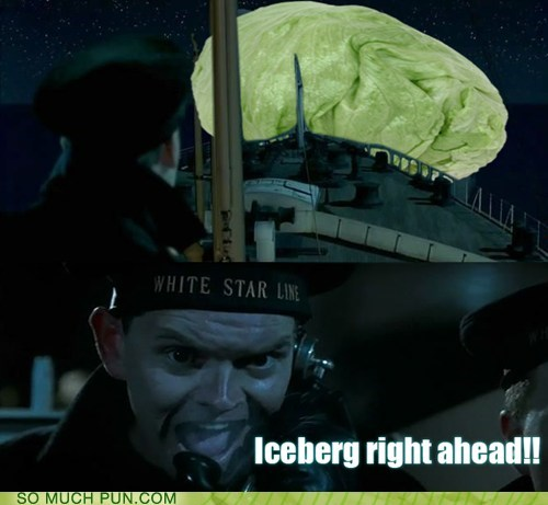 double meaning Hall of Fame iceberg lettuce literalism titanic variety - 6307332096