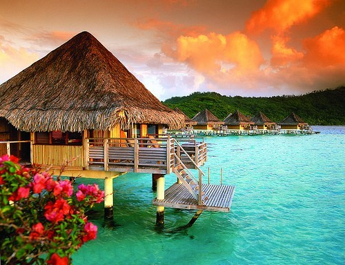 Hall of Fame,hut,island,ocean,polynesian islands,tahiti
