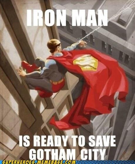 gotham ironman Super-Lols superman trolling - 6307376384