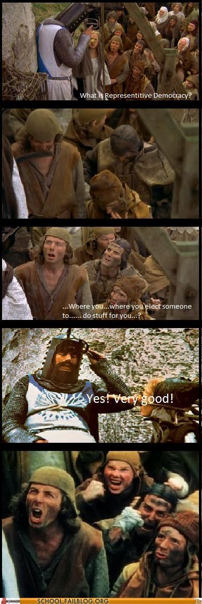 class is in session democracy monty python political science - 6307381248