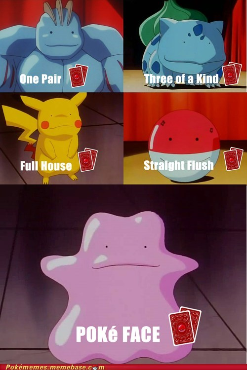card,ditto,poke face,poker,the internets