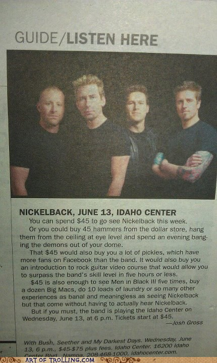 guide IRL Memes news nickelback suggestion - 6307555328