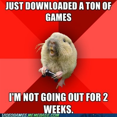 gaming gopher meme soda too many games - 6307605248