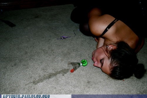 blackout,doing shots,passed out,shot,taking a shot,taking shots,unconscious
