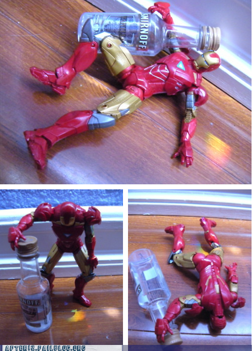 i'm bringing the party to im-bringing-the-party-to-you-guys iron man smirnoff The Avengers vodka wasted