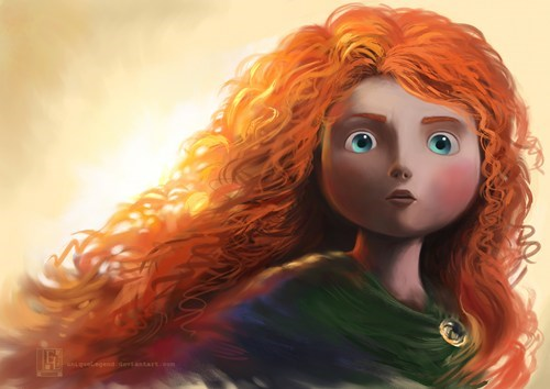 brave,disney,Fan Art,movies,summer blockbusters