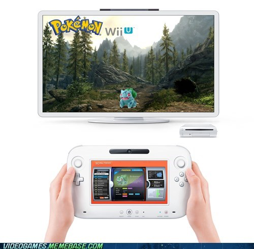 e3 gamepad nintendo Pokémon wii U - 6307710464