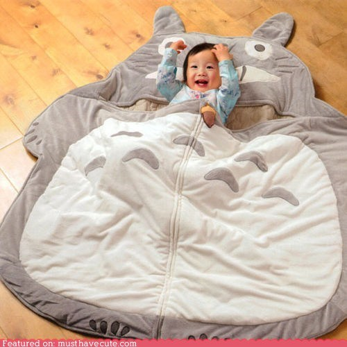 baby best of the week floor miyazaki Movie sleeping bag totoro - 6307781632