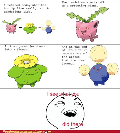 evolution Evolve Game Freak hoppip I see what you did there plants - 6307791360