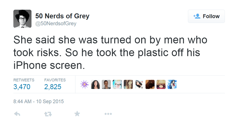 twitter,list,fifty shades of grey,50 nerds of grey,50 shades of grey