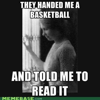 helen keller basketball reading - 6308031232