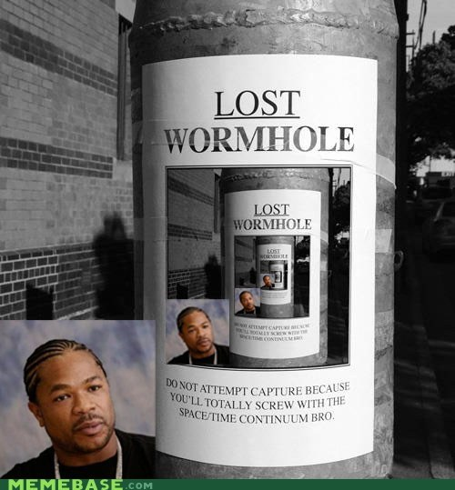 wormhole,lost,yo dawg