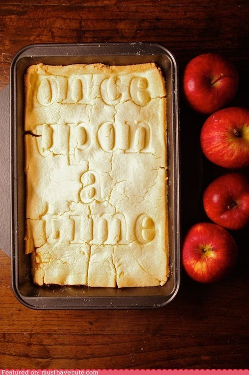 apple,book,epicute,once upon a time,pie