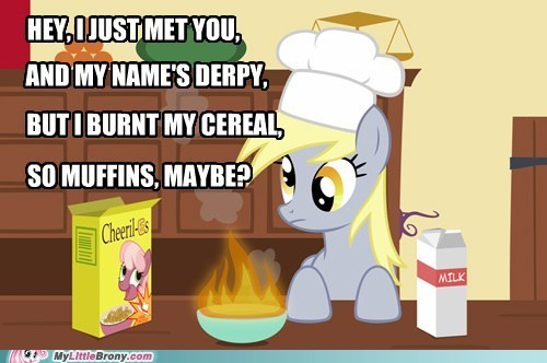 call me maybe cereal derpy hooves meme meme muffins - 6308308992