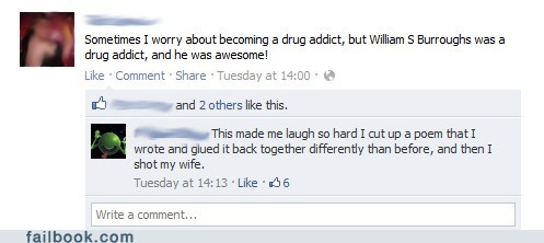 drugs,failbook,william s burroughs,writers,writing