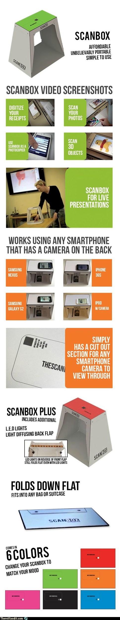 ben hillier iphone kickstarter luke allen phil bosua portable scanner scanbox scanner - 6308410624