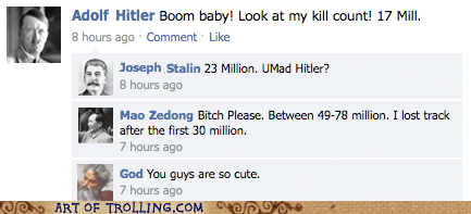 facebook god hitler kill count stalin - 6308414208