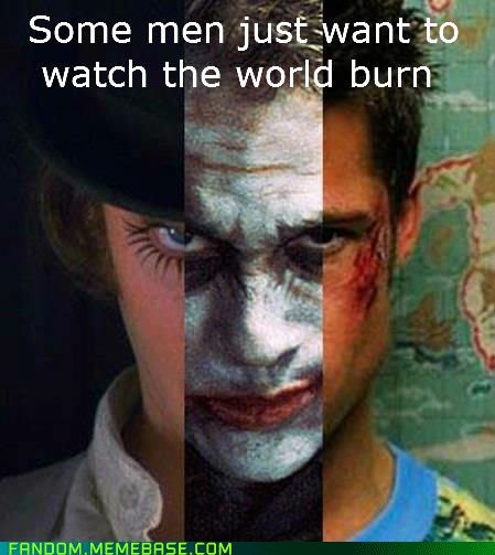 A Clockwork Orange,fandom,fight club,It Came From the,It Came From the Interwebz,the dark knight,the joker,tyler durden