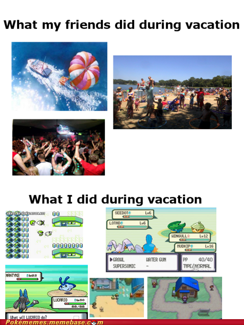 flew IRL Pokémon surfed vacation - 6309273344