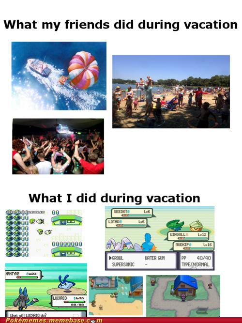 flew IRL Pokémon surfed vacation - 6309273344