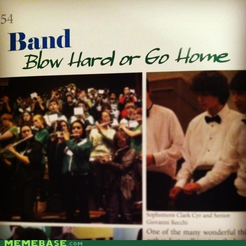 band,IRL,that sounds naughty,truancy story,yearbook