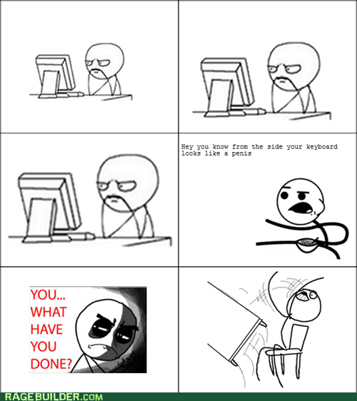 Rage Comics table flip that looks naughty what have you done - 6309966592