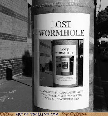 IRL lost sign wormhole - 6310086656
