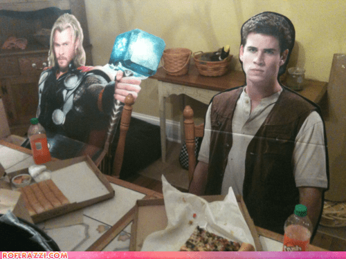 actor celeb chris hemsworth fake funny liam hemsworth Thor - 6310447616