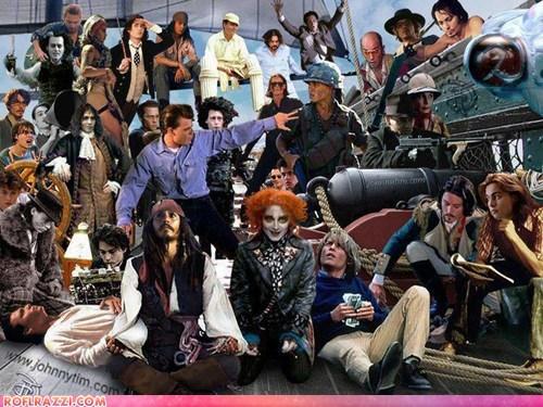 actor celeb funny Johnny Depp - 6310458112