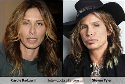 Carole Radziwill Totally Looks Like Steven Tyler