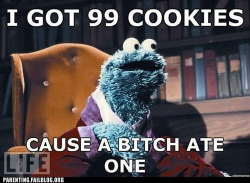 Cookie Monster,Jay Z,life,Sesame Street