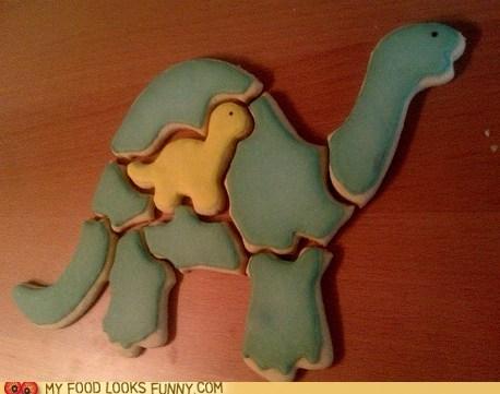 cookies,dinosaur,puzzle