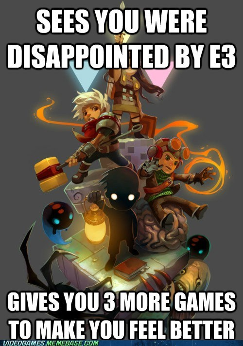 bastion,e3,good guy,humble indie bundle,meme