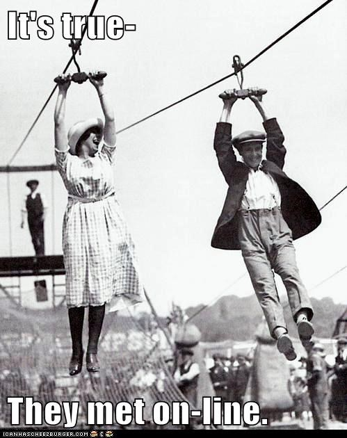date man romance theme park woman zip line - 6310809600