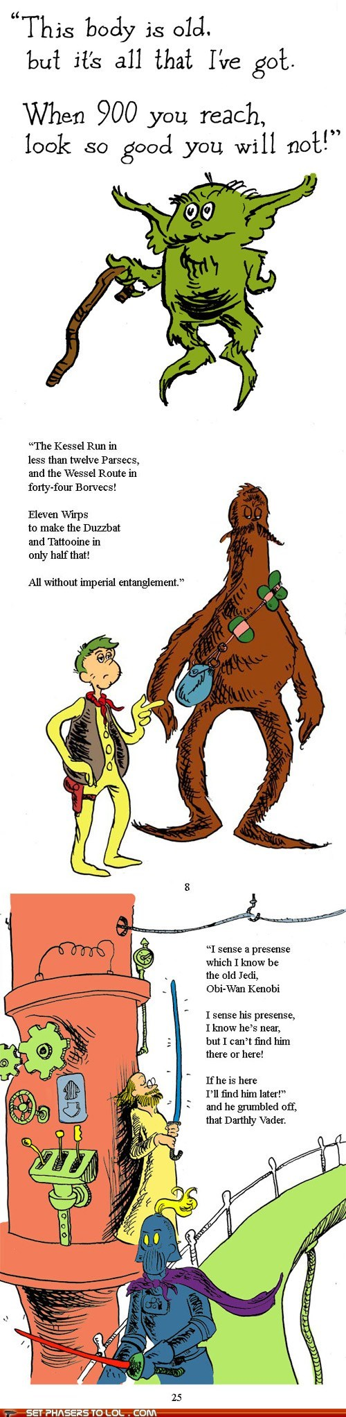 best of the week chewbacca childrens book doctor seuss Han Solo rhyming star wars yoda - 6310847744