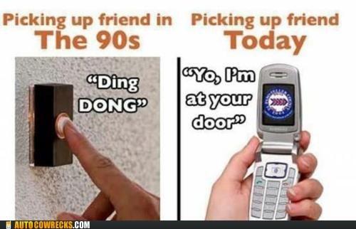 calling friends doorbell picking up your friend - 6310899200