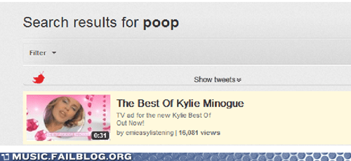 kylie minogue,poop,pop,youtube