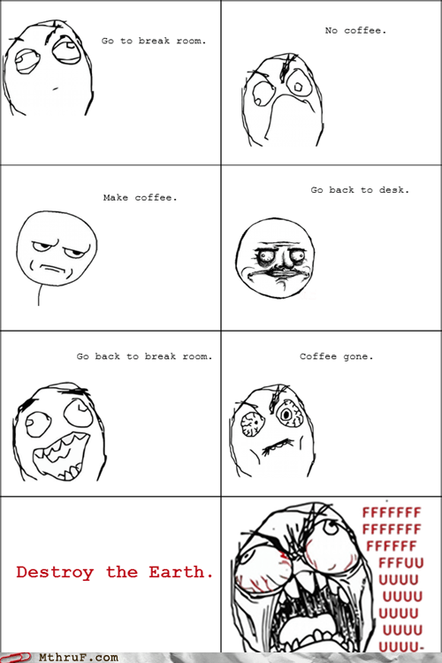 break room coffee Rage Comics - 6310983936