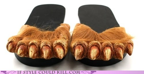 crazy shoes slippers werewolf - 6311152896