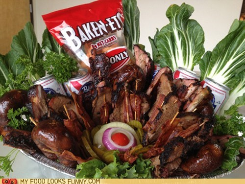 basket fathers day gift meat - 6311158272