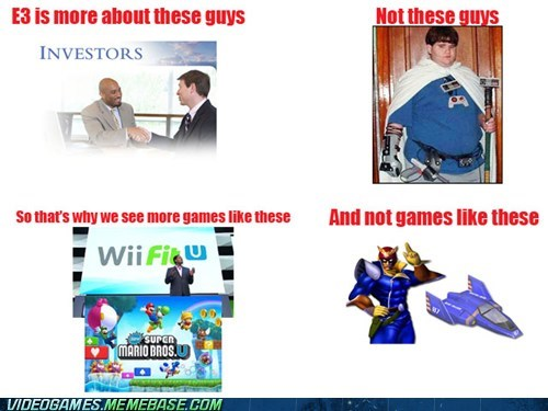 all about money,e3,investors,nerds,nintendo,the internets