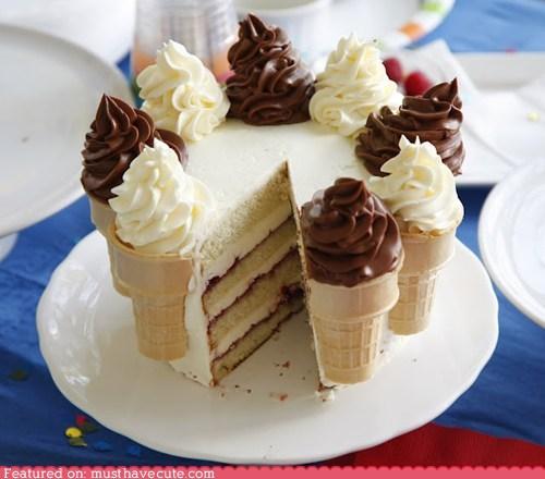 cake cones epicute frosting ice cream soft serve - 6311234816